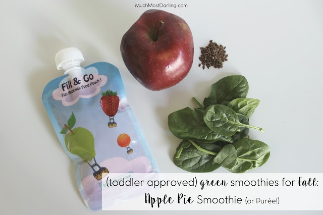 Healthy Toddler Approved Green Smoothie Ideas for Fall