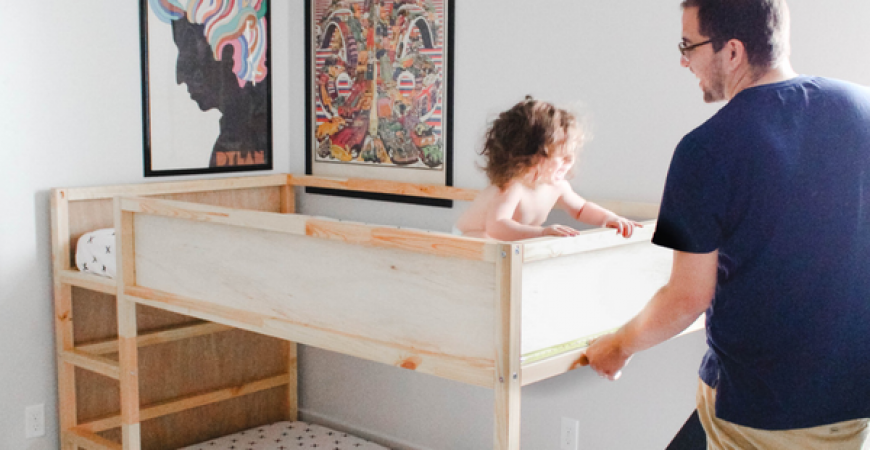 Diy Ikea Hack Kura Toddler Bunk Bed