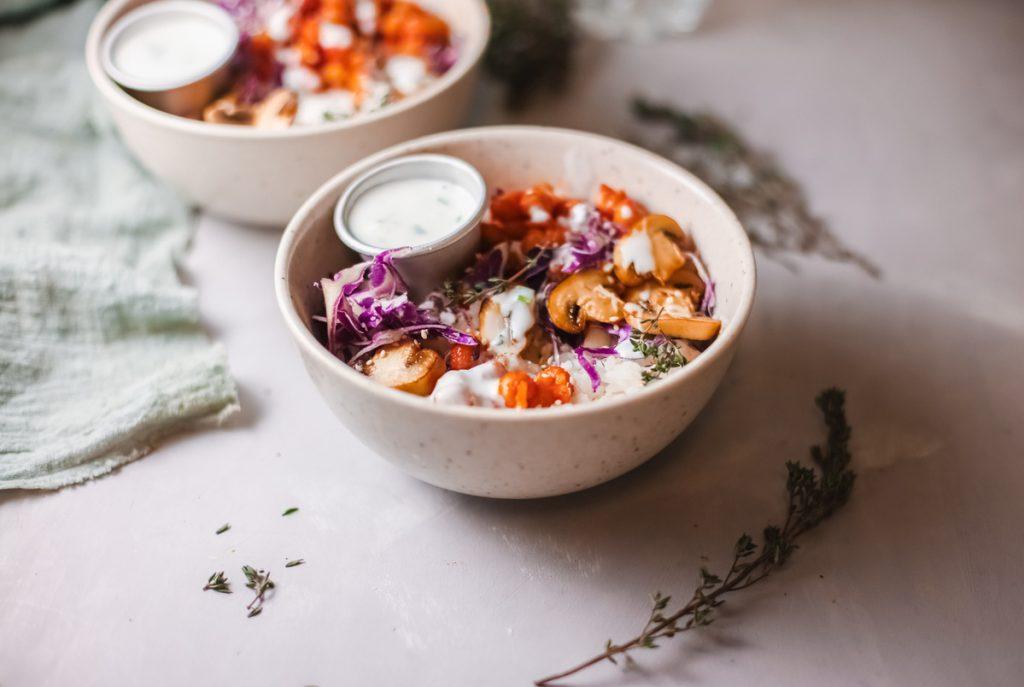 Gluten Free Moroccan Chickpea Bowl
