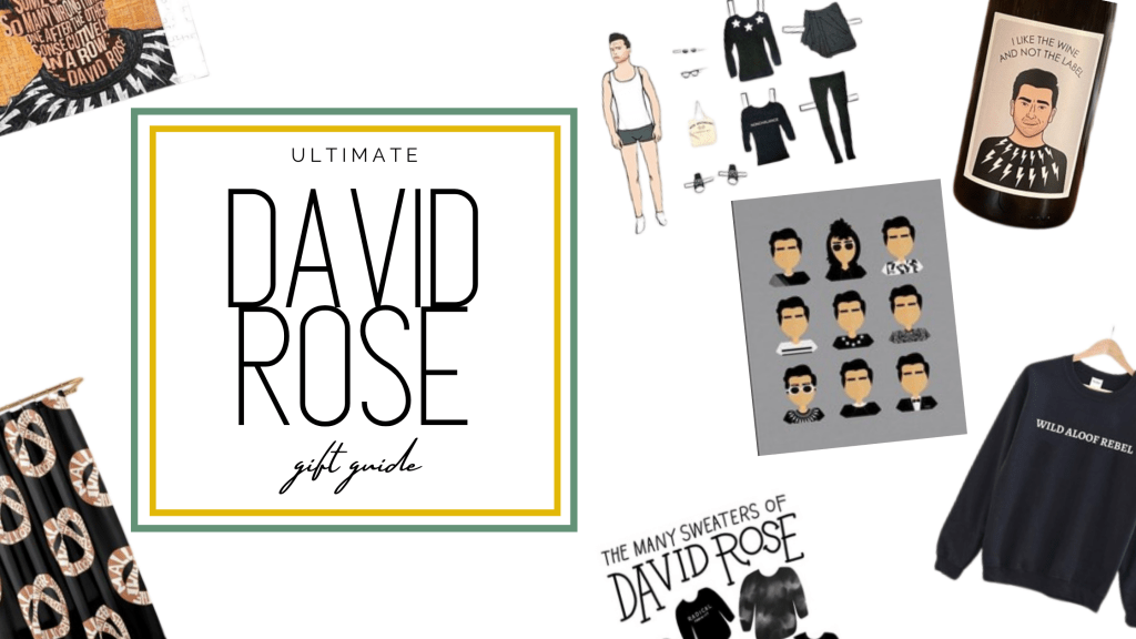 david rose gift guide header