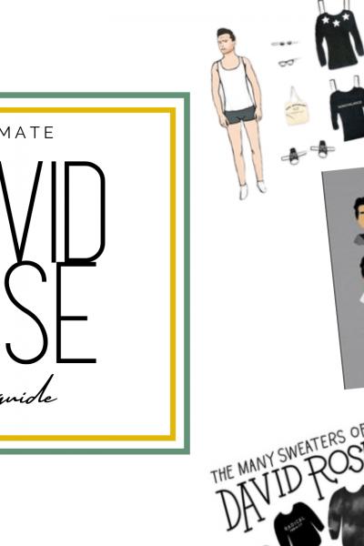 david rose gift guide header