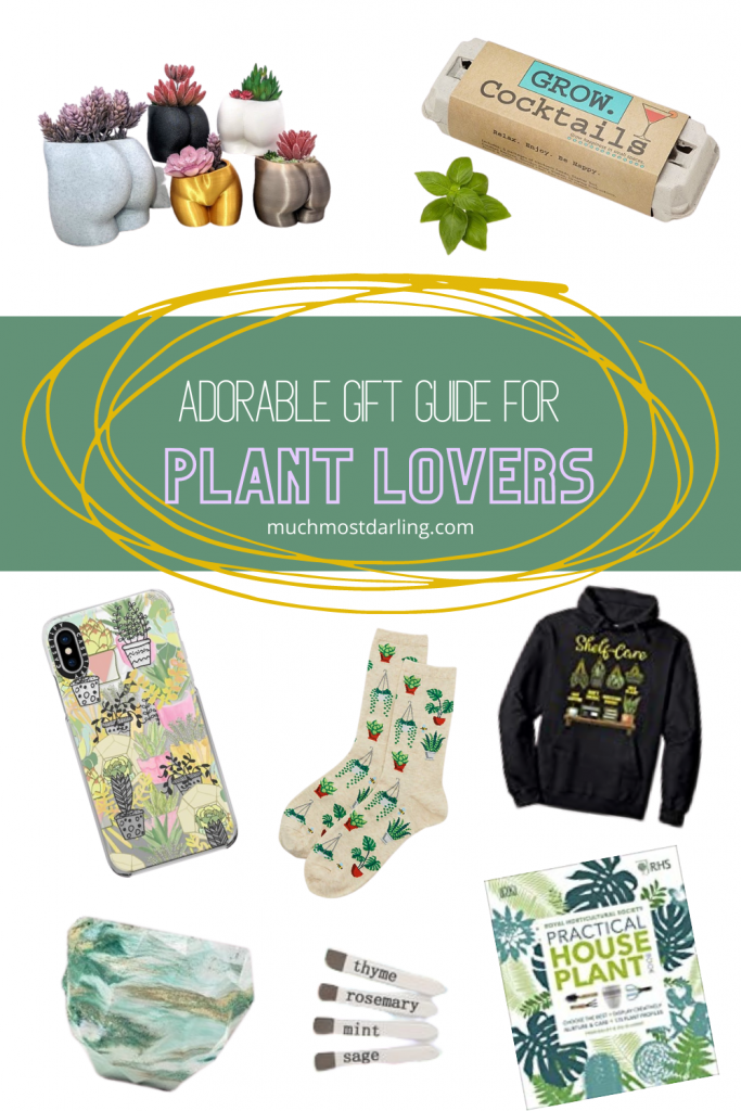 Not sure what to buy your plant-obsessed friend or family member? Win them over with my collection of gift ideas for plant lovers