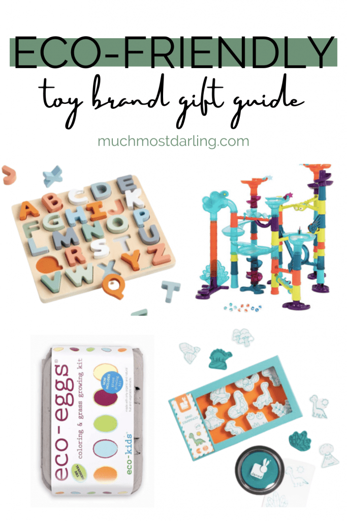 eco-friendly toy gift guide