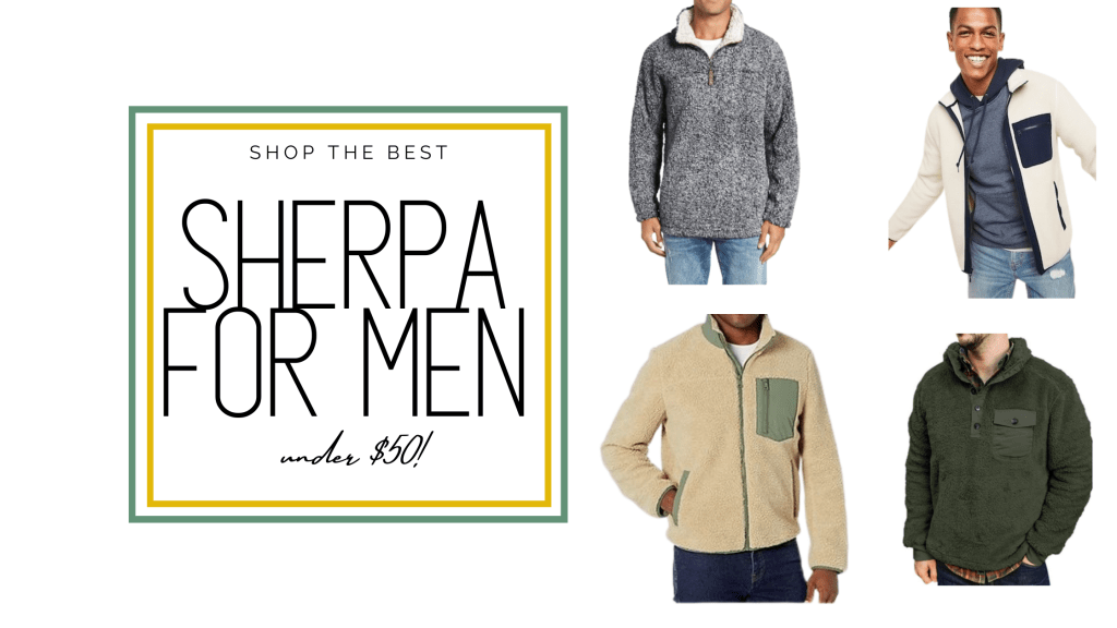 sherpa jackets for men