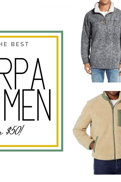 sherpa jackets for men